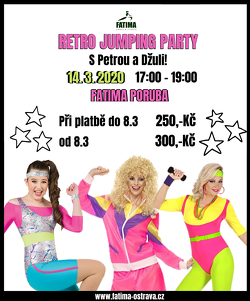 RETRO JUMPING PARTY ! VE FATIMA PORUBA!